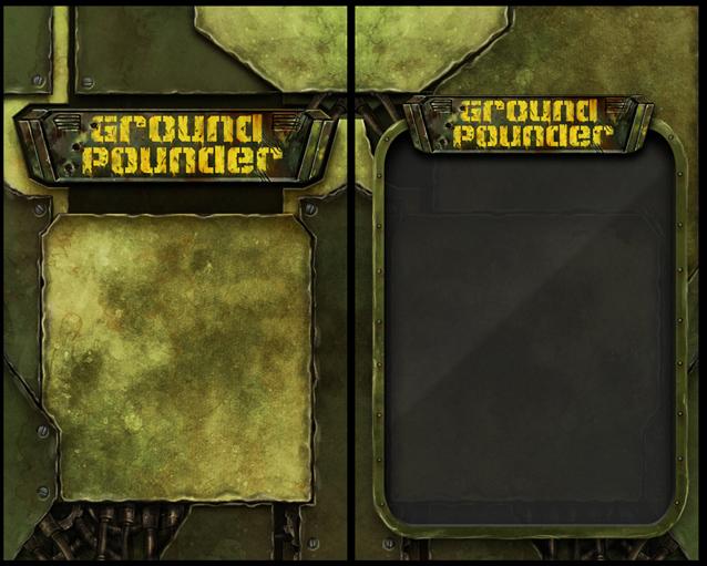 Ground pounder blister design by melvindevoor