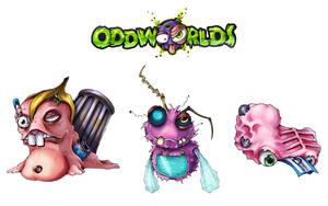 Oddworlds garbage-creatures