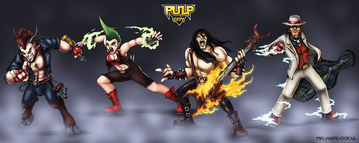 Pulp City Superhero Rock Band