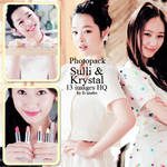 +Photopack f(x) Sulli and Krystal