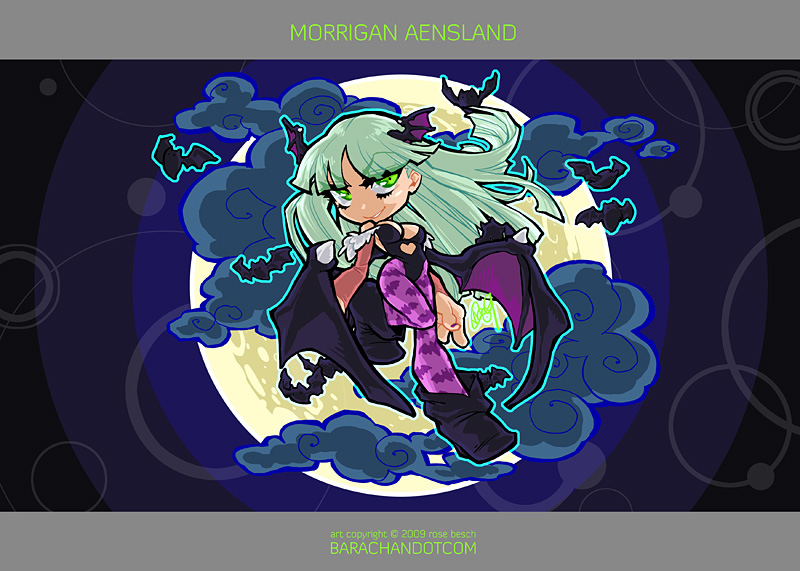 090414 morrigan by bara-chan