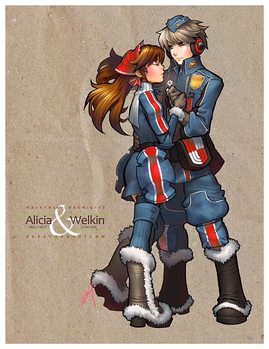 Valkyria Chronicles by bara-chan