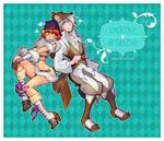 100210 chocola+ansel by bara-chan