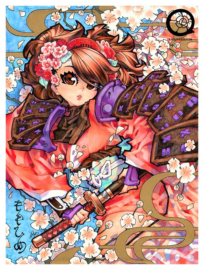 130829 momoiro by bara-chan