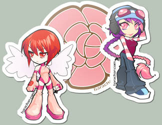 070418 stickers by bara-chan