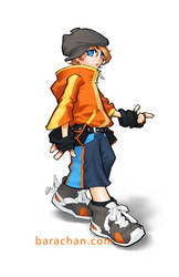 070513 boy by bara-chan