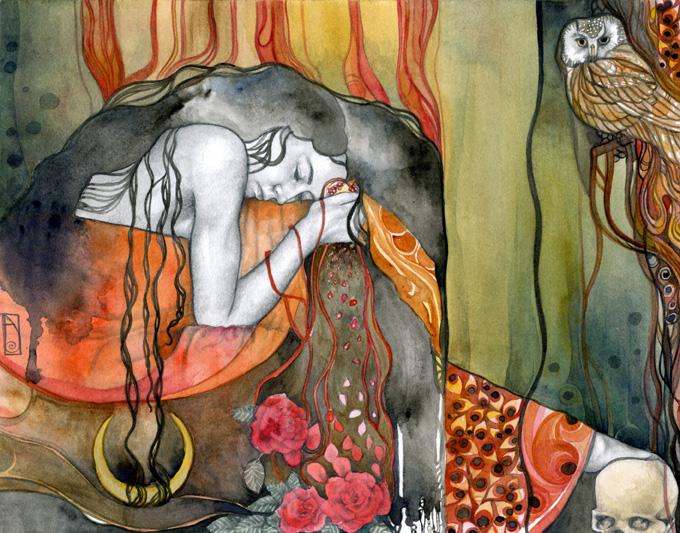Persephone by seaspell