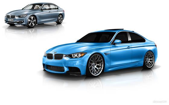 BMW F30 M3 digital tuning