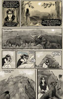 A Beast Behind, page 135 by Wilczomlecz