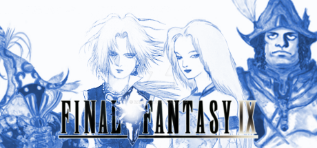 Final Fantasy IX Steam Banner (Blue) by daicon