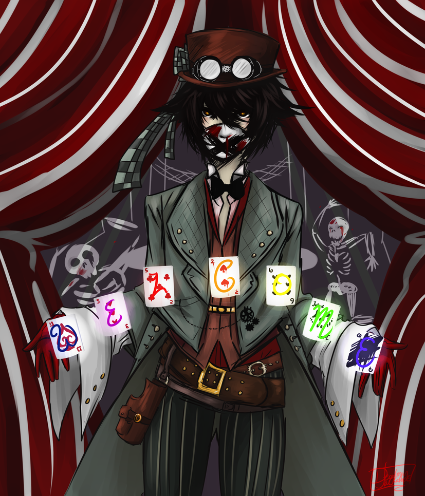 The Ringmaster by DeadmanJackalope on DeviantArt