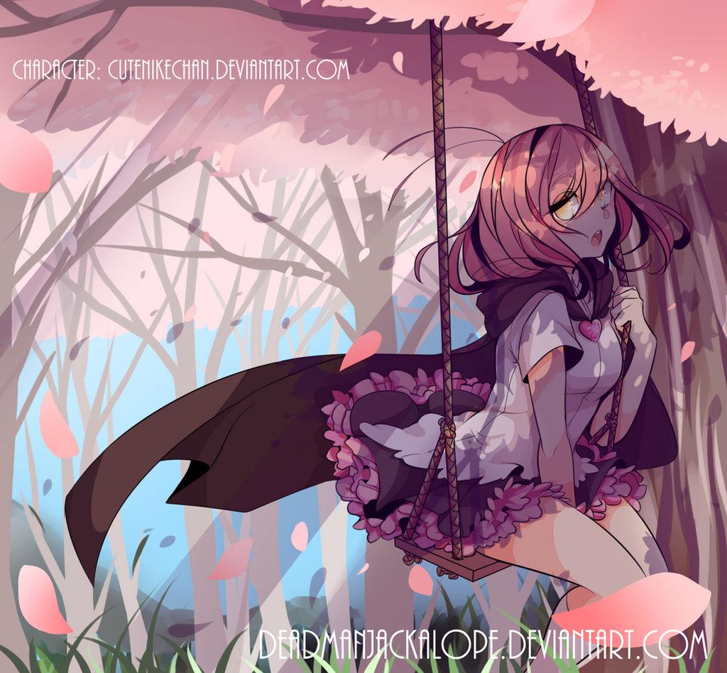 Sakuras by DeadmanJackalope