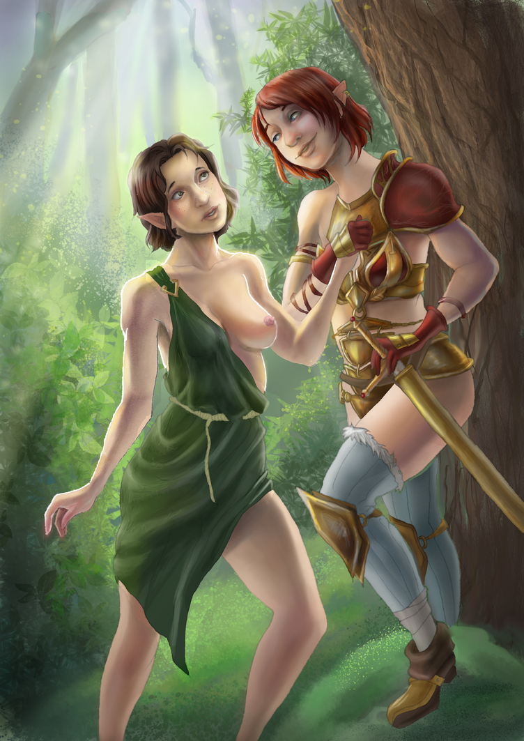 Seliane and Nauriane by Dekurini