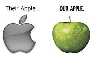 Apple vs. Apple by radiant-riot