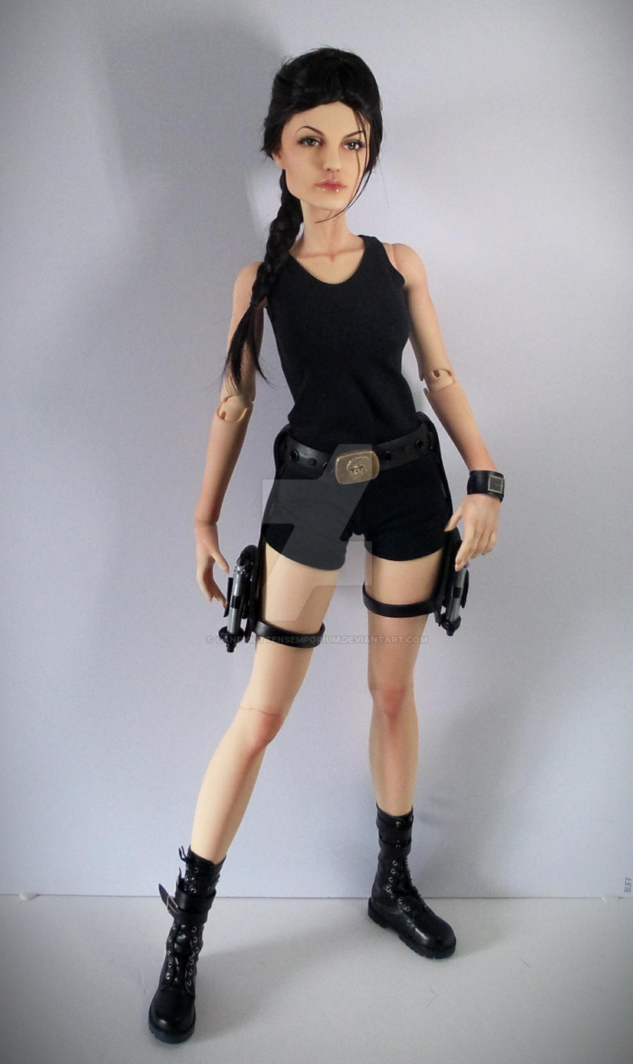 Lara Croft/Tomb Raider Movie Doll by CandyKittensEmporium