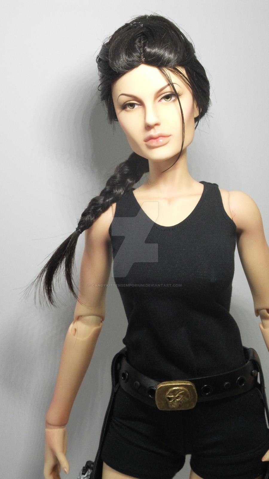 Lara Croft/Tomb Raider Movie Doll by CandyKittensEmporium