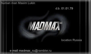 Madmax ID by madmax