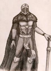 Knight pose 2