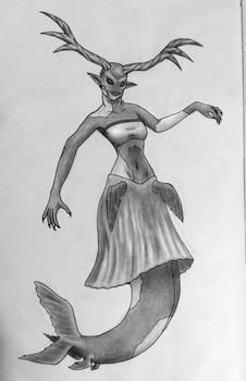 Horned Mermaid