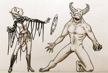 Mystel, the occultist by Nymerii