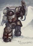 Apothecary in Terminator armor