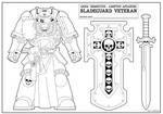 Bladeguard veteran Color sheet