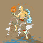 Aang Avatar State