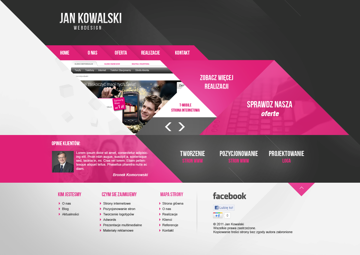 Webdesigner Layout by grb01