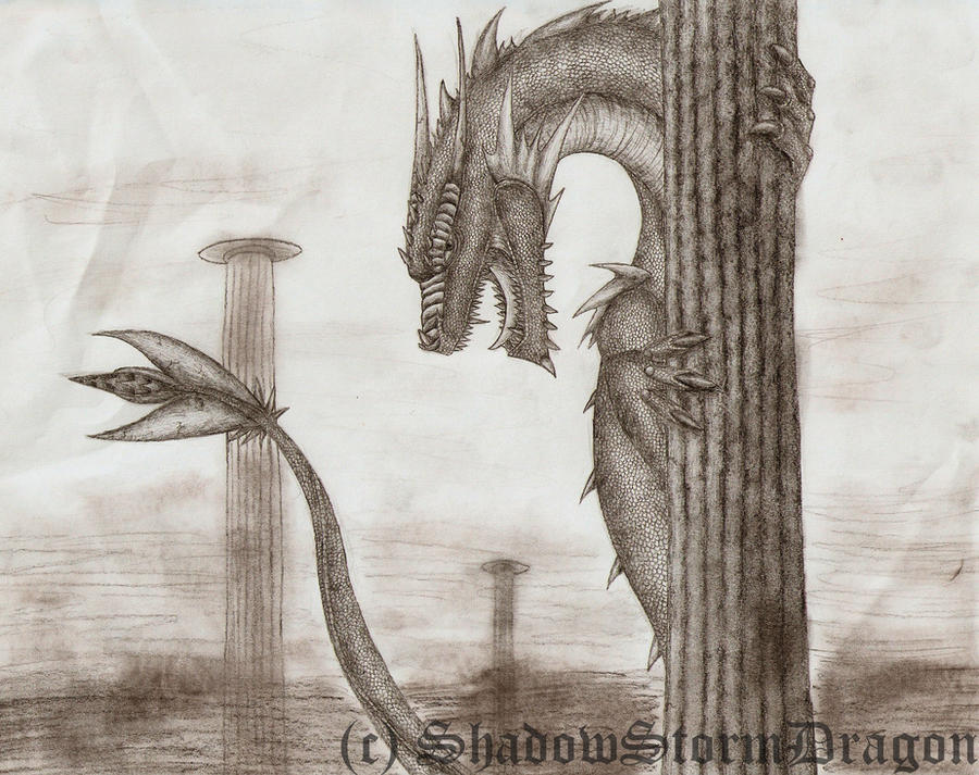 Dragon Studios ___pillers_of_the_earth____by_shadowstormdragon-d2xqu7g