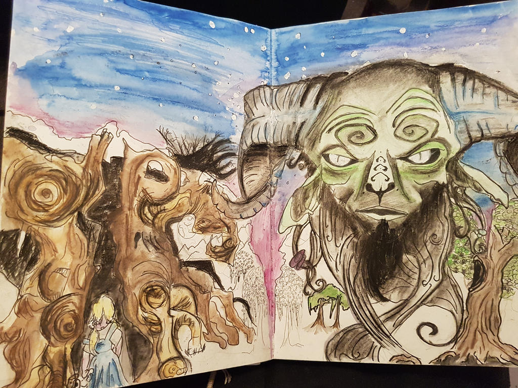 Pans labyrinth  by MadInsaneHatter