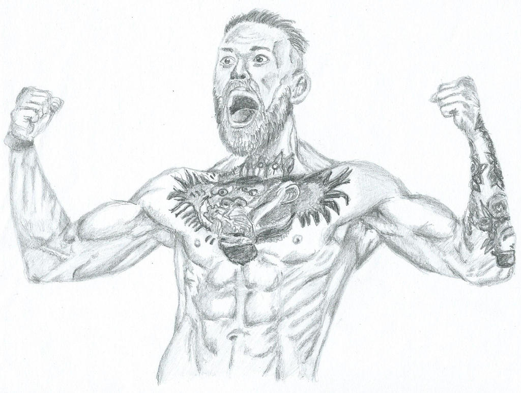 Conor McGregor 01/10/14 by GaryMurphy