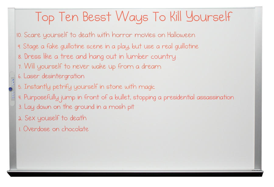 how to prepare yourself to commit suicide