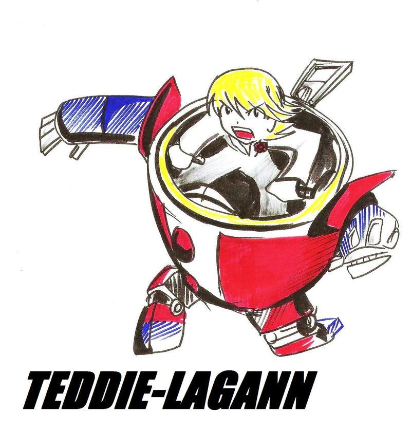 BEAR THE UNBEARABLE Teddie_Lagann_by_RyouKazehara