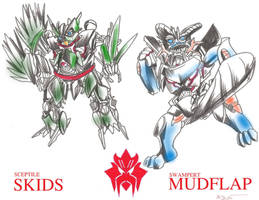 PokeBayformer MUDFLAP AND SKIDS by RyouKazehara