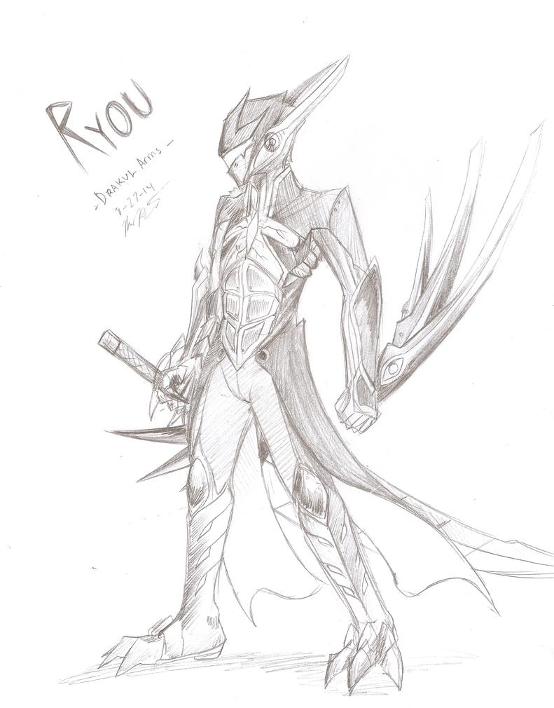 Ryou -Drakul Arms- by RyouKazehara