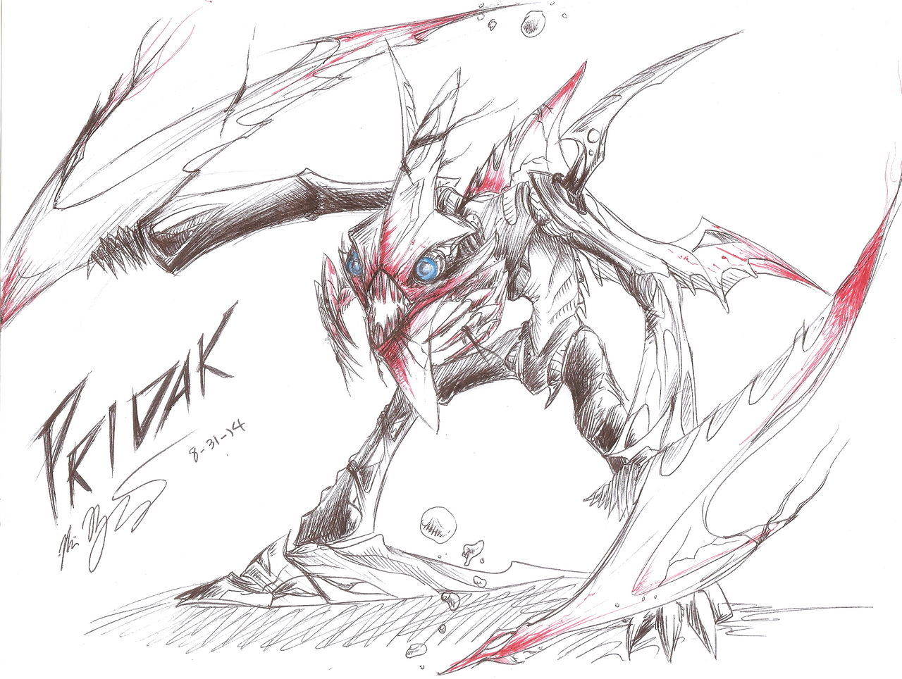 [Fan-Arts] Images du net - Page 19 Pridak__lord_of_the_pit_by_ryoukazehara-d7xfm5s