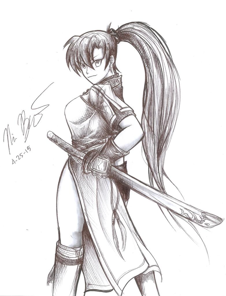 Lord Lyndis of Sacae by RyouKazehara