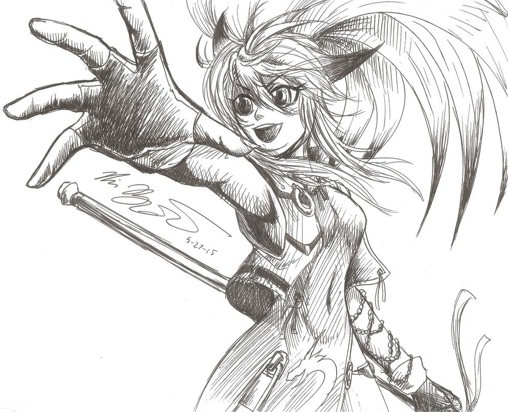 Foxy Demon Xiaomu by RyouKazehara