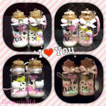 LOVE bottle charm by Brownie314