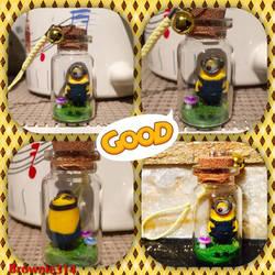 Minion Bottle Charm