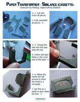 Transformer OC Sibilance papercraft - instructions by shadree