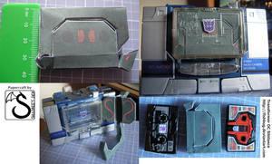 Transformer OC Sibilance papercraft - gallery by shadree