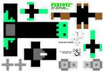 Pixtoyz custom - Frankenbyte (A4 template)