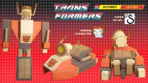Transformers OC Cartride papercraft v0.3c photos