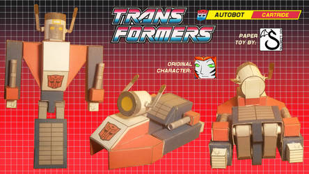 Transformers OC Cartride papercraft v0.3c photos by shadree