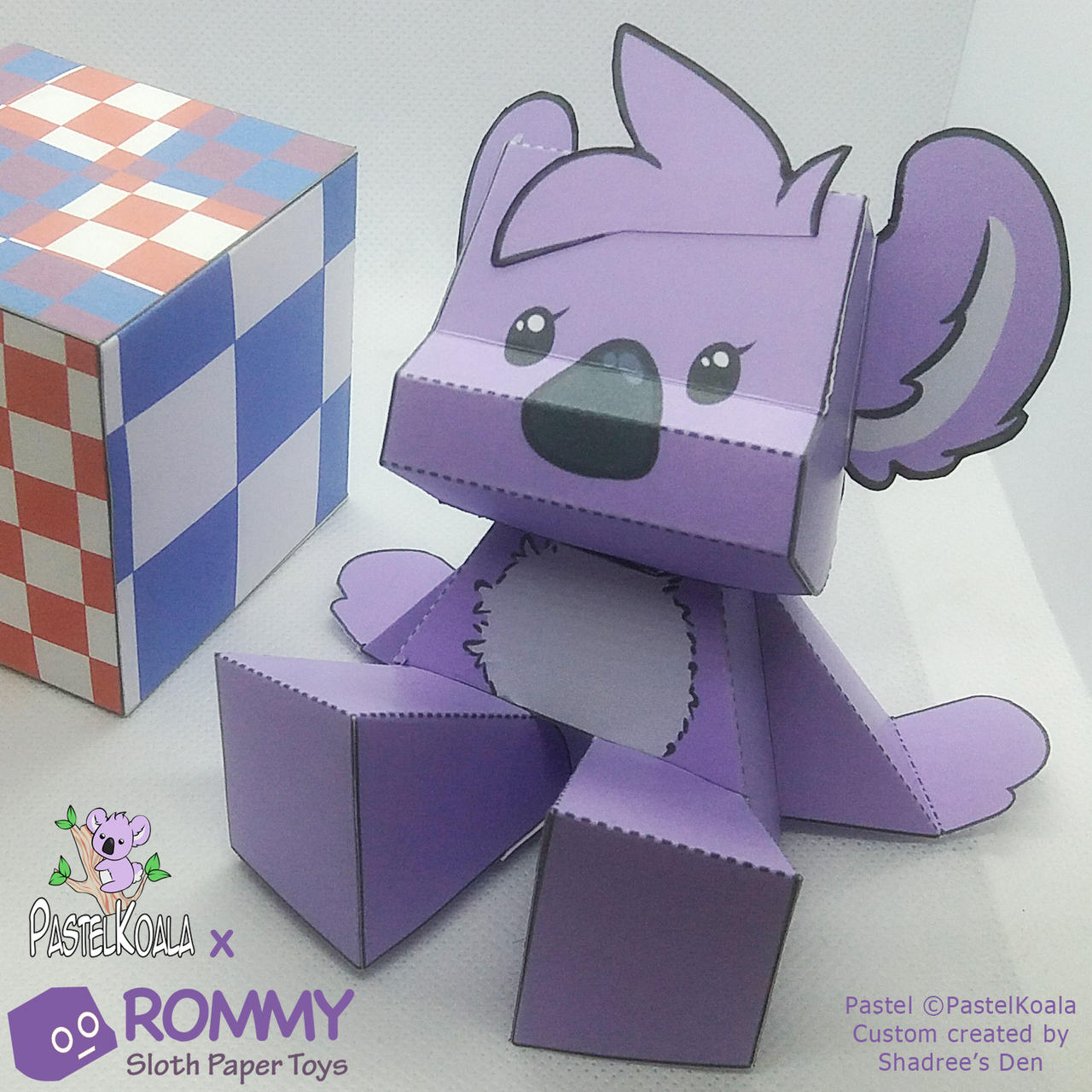 Rommy custom: Pastel