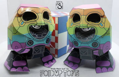 Fold Up Toys' Pride Mech Suit