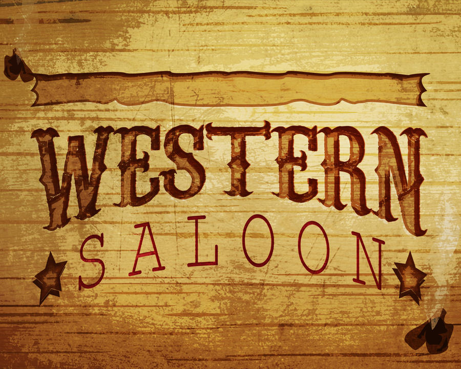 Western saloon by nikki 1986 on deviantart for Salon western