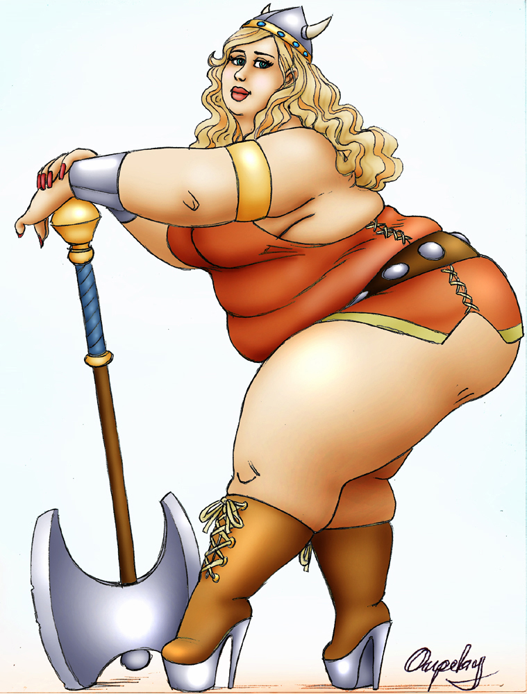 Viking Pinup by oupelay