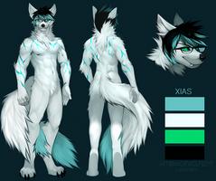XIAS by AngiewolfArt